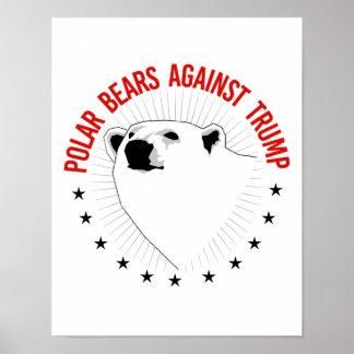 Poster Ours blancs contre l'atout - - la Pro-Science -