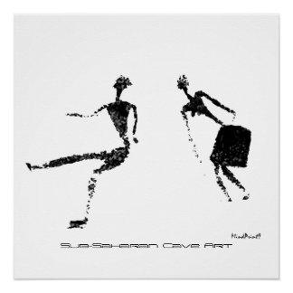Poster Paires de danse