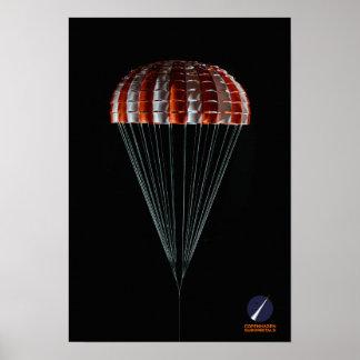 Poster Parachute principal de Copenhague Suborbitals