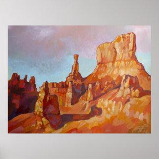 Poster Parc national de canyon de Bryce