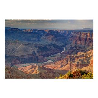 Poster Parc national de canyon grand, Ariz