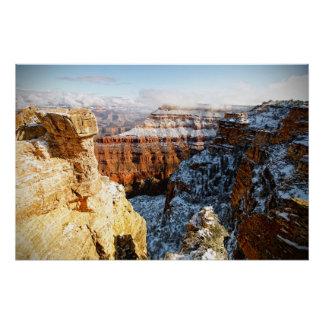 Poster Parc national de canyon grand, Arizona, Etats-Unis
