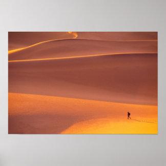 Poster Parc national de Death Valley | la Californie
