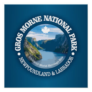 Poster Parc national de Gros Morne