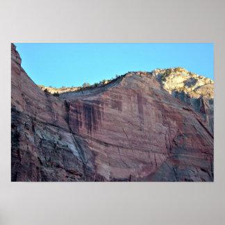 Poster Parc national Utah de Zion