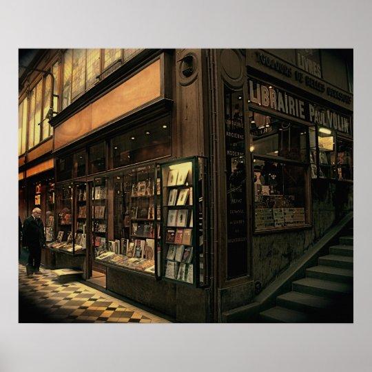 Poster Paris Bookshop