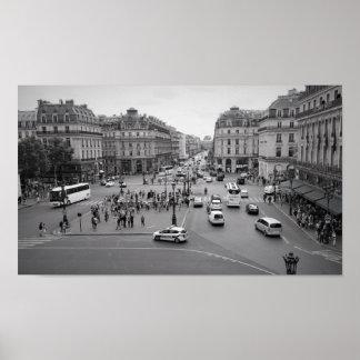Poster Paris de l'opéra Garnier