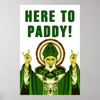 Poster Partie du jour de St Patrick