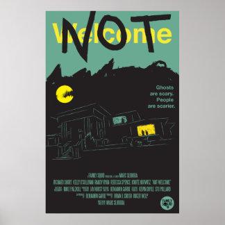 """Poster Pas accueil - affiche de film - 27"""" x 41"""""""