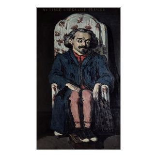 Poster Paul Cezanne | Achille Emperaire c.1886