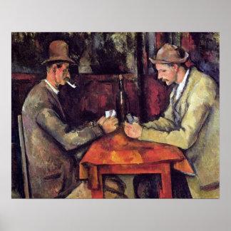 Poster Paul Cezanne - la peinture de beaux-arts de