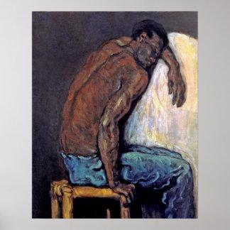 Poster Paul Cezanne - la peinture de beaux-arts de Scipio