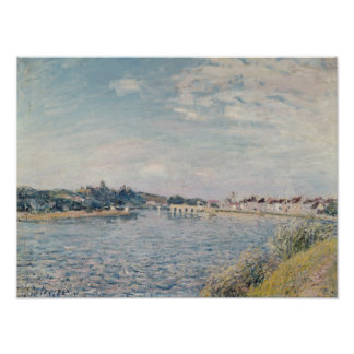 Poster Paysage d'Alfred Sisley  