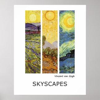 Poster Paysages de beaux-arts de Vincent van Gogh