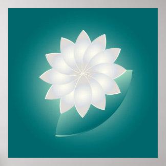 Poster Perle et jade