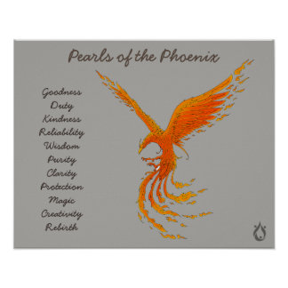 Poster Perles de l'affiche de Phoenix Voyager