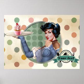 Poster Petit gâteau doux