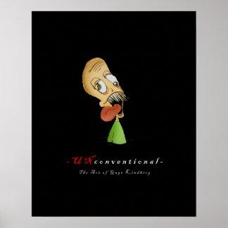 Poster Peu conventionnel : Affiche de Larry de