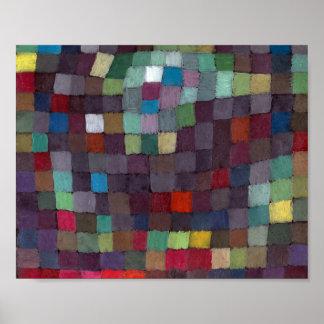 Poster Peut décrire : Paul Klee 1925