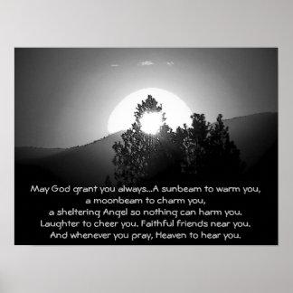 Poster Peut un DIEU Grant vous toujours… bénédiction