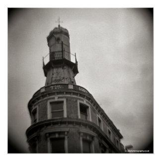 Poster Phare aux Rois Cross Londres - appareil-photo de