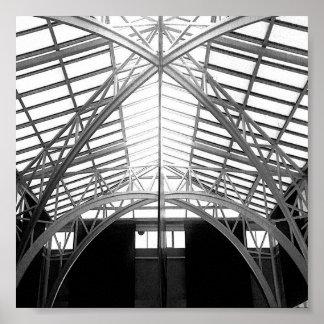Poster Photo Conceptuelle Angles et Formes