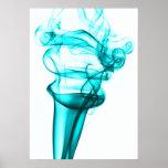 Poster Photo de fumée