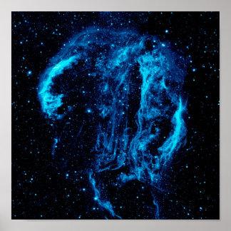 Poster Photo de la NASA de reste de supernova de