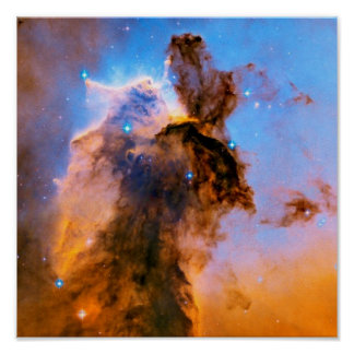 Poster Photo stellaire de l'espace de la NASA Hubble de
