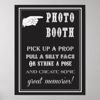Poster Photobooth - cru - signe - noce