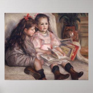 Poster Pierre enfants de Renoir un | de Caillebotte