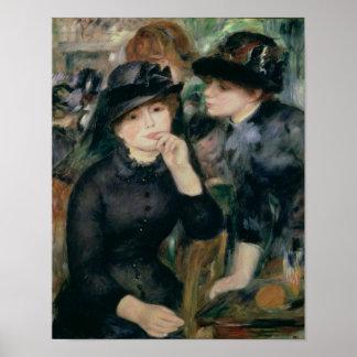 Poster Pierre filles de Renoir un   dans le noir