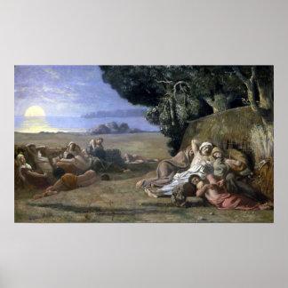 Poster Pierre Puvis de Chavannes Sleep
