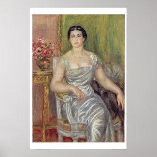 Poster Pierre un portrait de Renoir | d'A.