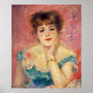 Poster Pierre un portrait de Renoir | de Jeanne Samary