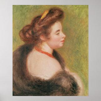 Poster Pierre un portrait de Renoir   de Mme. Maurice