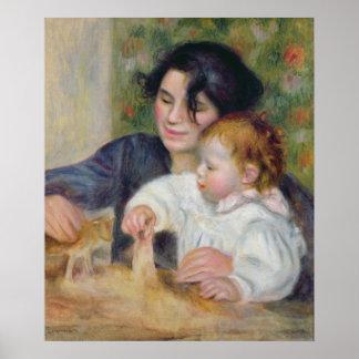 Poster Pierre un Renoir | Gabrielle et Jean