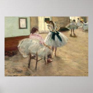 Poster Pierre un Renoir | la leçon de danse