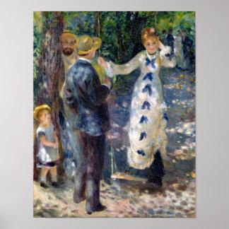 Poster Pierre un Renoir   l'oscillation