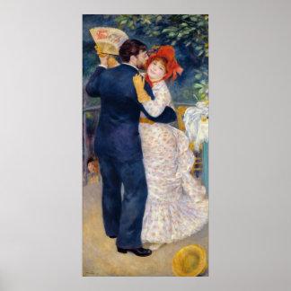 Poster Pierre un Renoir | une danse dans le pays