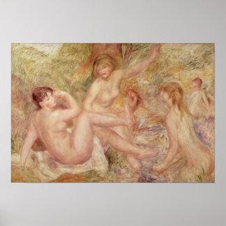 Poster Pierre une étude de Renoir | pour les grands