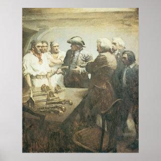 Poster Pirates vintages, se préparant à la révolte par OR