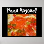 Poster Pizza n'importe qui ?