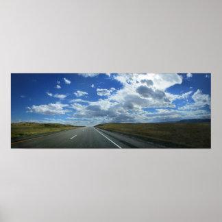 Poster Plaines du Montana