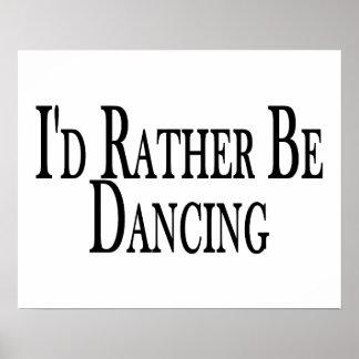 Poster Plutôt danse
