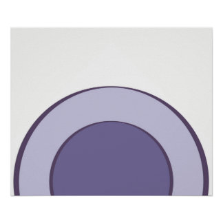 Poster Point lilas