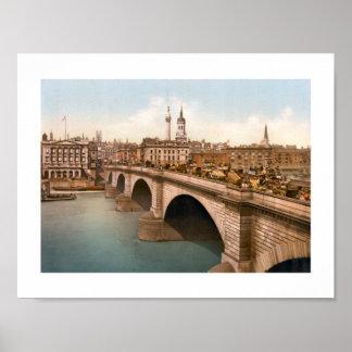 Poster Pont de Londres, Angleterre