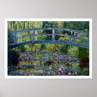 Poster Pont japonais - Pont Japonais - par Claude Monet