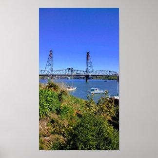 Poster Pont Portland de Hawthorne