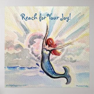 Poster Portée pour votre affiche de joie